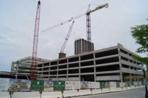 Ash Skyline Parking Exterior Street View Crane