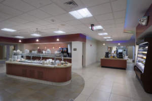 Bryan Hospital Cafeteria Buffet Station Dining