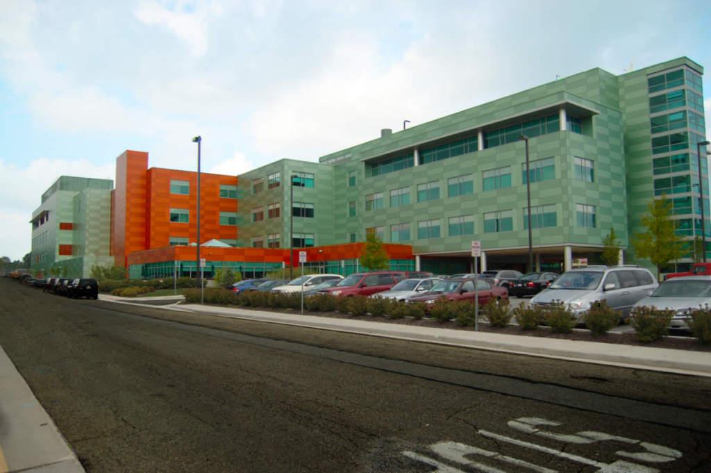 Bryan Hospital Exterior Landscape Retouch