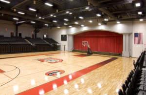 Grace College Ortho Center Interior Basketball Floor Gymnasium