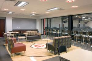 Grace College Ortho Center Interior Suite Seating Private