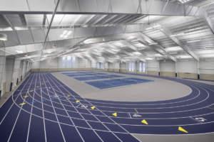 Hillsdale College Track Tennis Interior Track Tennis Fieldhouse Center