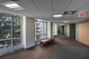 IU Spruce Hall Interior Hallway Windows