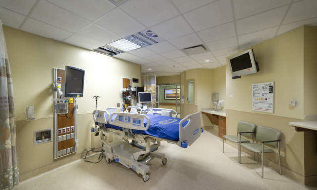 lutheran hospital expansion patient room private bed