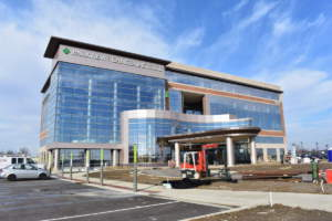 Weigand Medical Construction - Parkview Cancer Institute exterior
