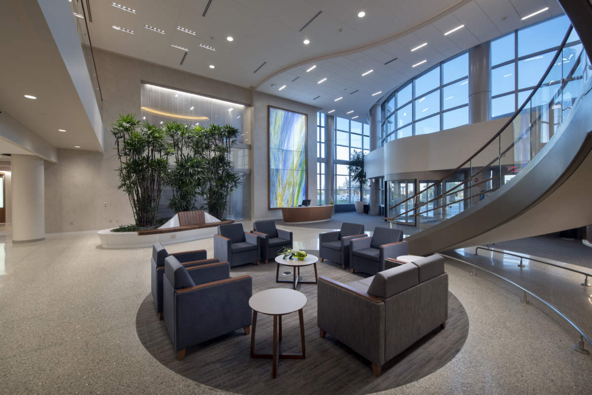 Parkview Cancer Institute main lobby