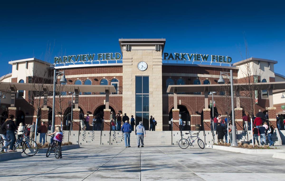 Parkview Field Stadium Exterior Main Entrance