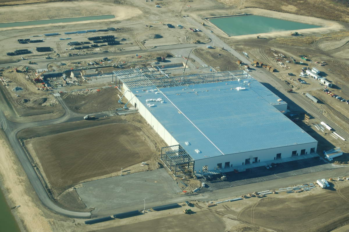 Scot Industries Exterior Aerial Site