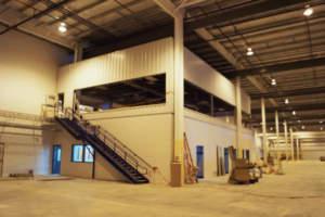 Scot Industries Interior Floor Managers Office
