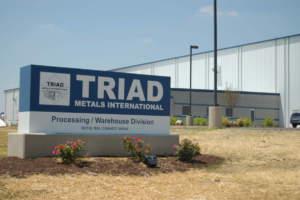 Triad Metals Exterior Sign Monument
