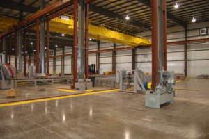 Triad Metals Interior Facility Floor Stations
