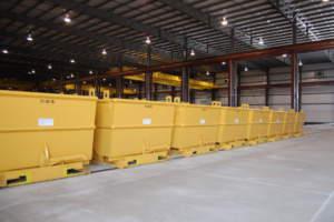 Triad Metals Interior Material Bins