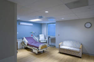 White County Memorial Hospital private patient room suite