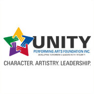 Unity performing arts foundation logo