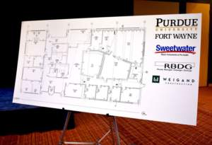 Purdue Fort Wayne Sweetwater Music Technology Building Floorplan