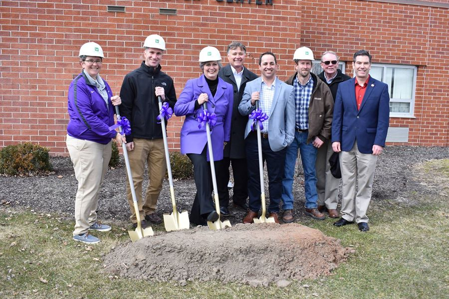 Defiance College Athletics - Groundbreaking