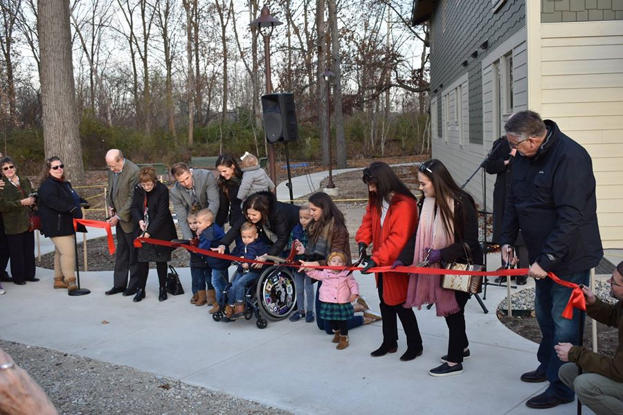 Epworth Forest Ribbon Cutting