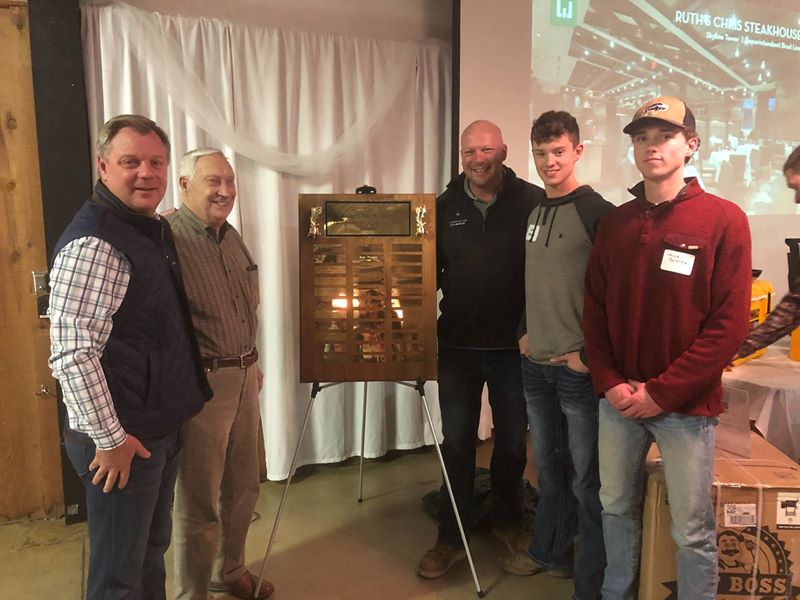 Jade's Robert M Weigand Award