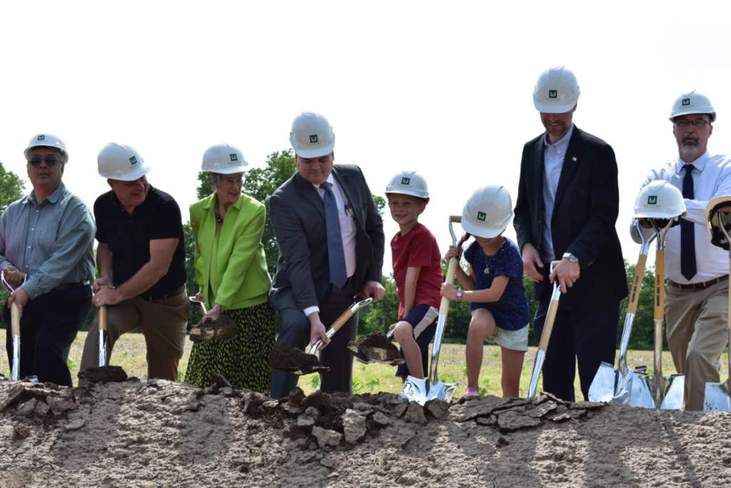 Goshen Intermediate School Groundbreaking