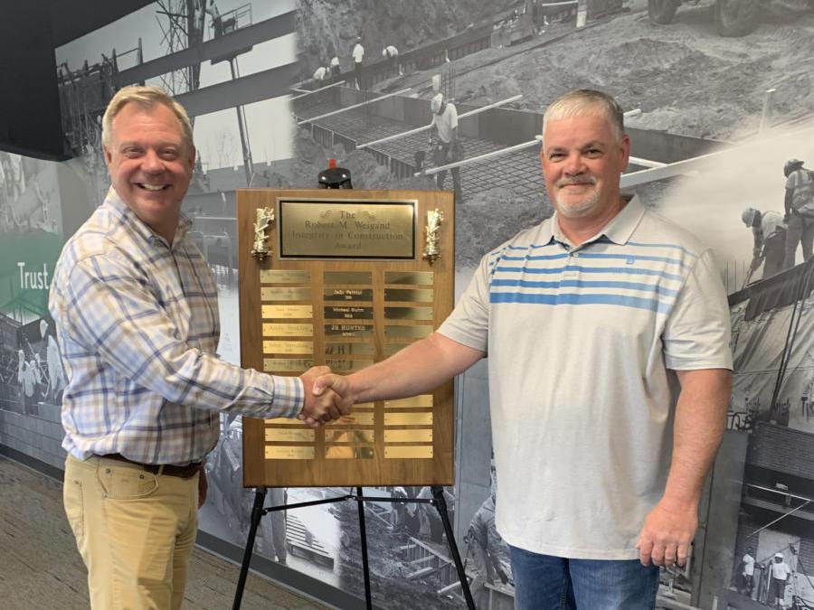Gary JR Hunter 2020 RMW Award Recipient